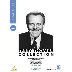 Terry Thomas Collection - 6-DVD Box Set ( School for Scoundrels / Private's Progress / Make Mine Mink / Too Many Crooks / The Naked Truth / Broth [ NON-USA FORMAT, PAL, Reg.2 Import - United Kingdom ]
