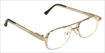 X-RAY PROTECTIVE GLASSES - STANDARD STEEL METAL FRAMES AND SIDE SHIELDS
