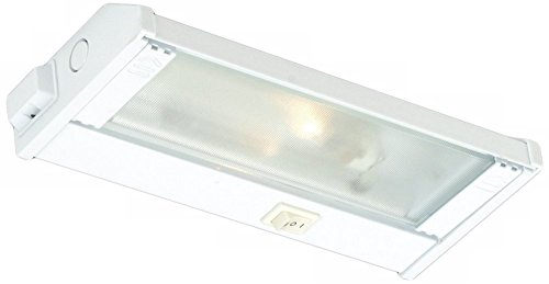 CSL Lighting  NMA120L-8WT Mach120 8IN Undercabinet Fixture with SpeedLink, White Finish with Prismatic Glass Diffuser (Csl Lighting New Counter)