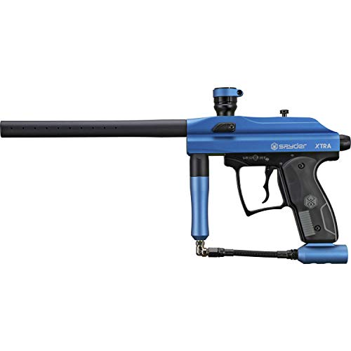Spyder Xtra Semi - Auto Paintball Marker - Matte Blue