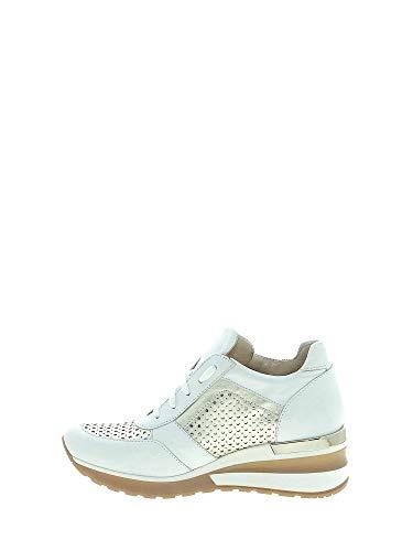 Femmes Sneakers Exton Exton Blanc E08 E08 Sneakers awFXqnT