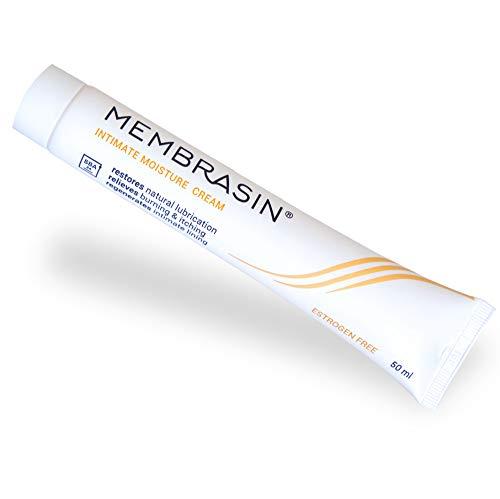 Membrasin® Vaginal Dryness Intimate Cream - Feminine Moisture Product Restores Natural Lubrication, Relieves Dry Vagina, Burning, and Itching - Estrogen Free Cream for Menopause Relief for Women