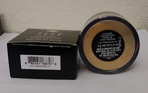 Avon Smooth Minerals Foundation Pure Beige Powder 0.2 oz