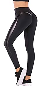 IUGA Yoga Pants Workout Leggings for Women 4 Way Stretch Yoga Leggings for Fitness, Yoga and Jogging