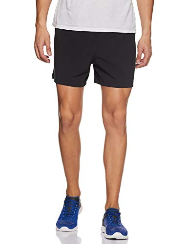 (New Balance Impact Short 5in, Black Multi,)