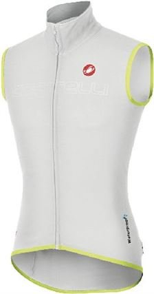 Castelli Fawesome Vest white/reflective yellow Size ()