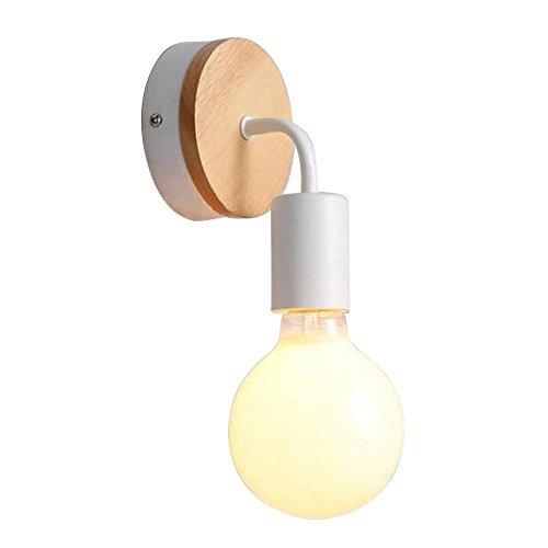 Alamp Applique Murale Moderne Lampe Murale Douille E27 Lumière