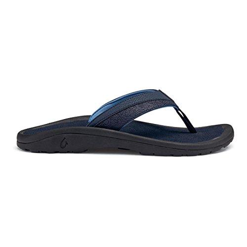 Olukai Mens Ohana Koa Sandal Trench Blå / Dike Blue
