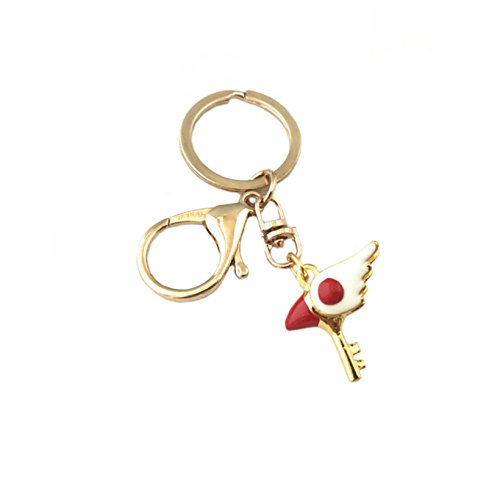 Cardcaptor Sakura Keychain Key Ring Anime Manga TV Show Auto/Boat House Keys -