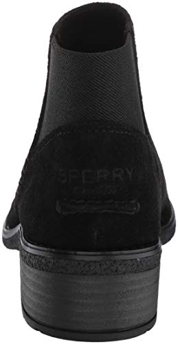 Sperry sider Ankle Boot Lani Top Suede Women's Maya Black OCqnw7OU5