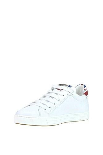 Dsquared2 Damen Mcglcak03084e Weiss Leder Sneakers