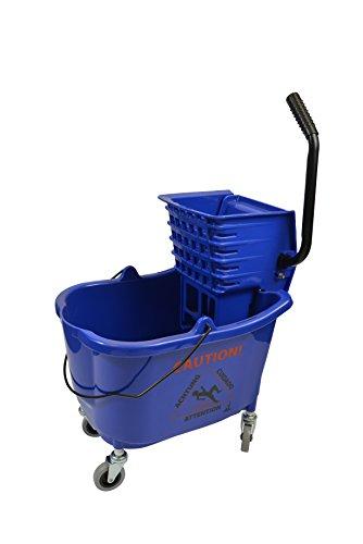janico-inc-mop-bucket-side-press-wringer-combo-35-quart-85-gallon-blue-3-inch-non-marking-metal-cast