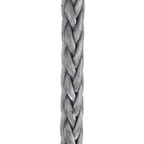 New England Ropes 1/4in (6mm) HTS-78 Gray - Full 600ft Spool
