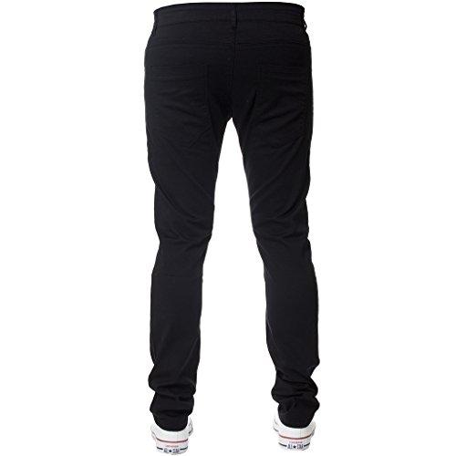 Slim X Navy Chino Da 32l Stretch Uomo Di Neri Marca 32w Kruze Pantaloni Nuovo Bianco Nero Marrone Holt IqawU