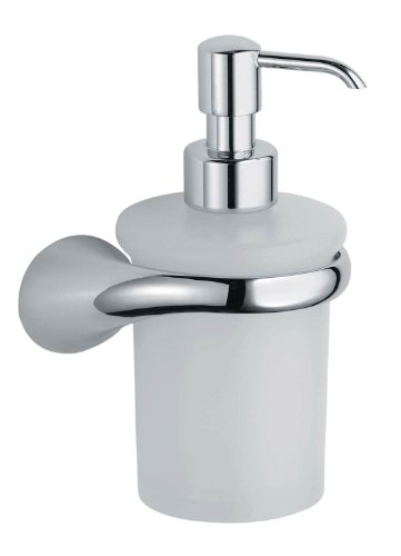 Vetrilite Soap Dispenser - Artos L-16BN Lulay Vetrilite Soap Dispenser and Holder