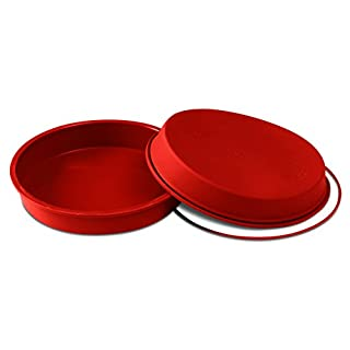 Silikomart SFT126/C 10-Inch Silicone Classic Collection Cake Pan, Round
