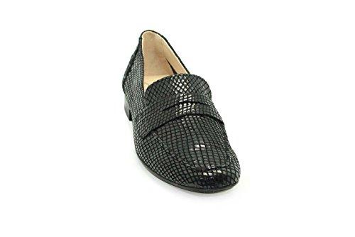 Mocasines de mujer - Maria Jaen modelo 52N Negro