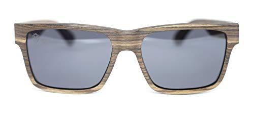 Óculos De Sol De Madeira Gambino Light, MafiawooD