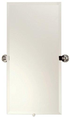 Motiv 2641/PC London Terrace Mirror/Small, Polished Chrome - Ginger Sconce Polished