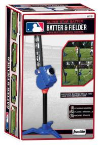 Whether your Little Leaguer is just learning or building consistency, the MLB Super Star Batter & Fielder is the perfect addition to your practice.