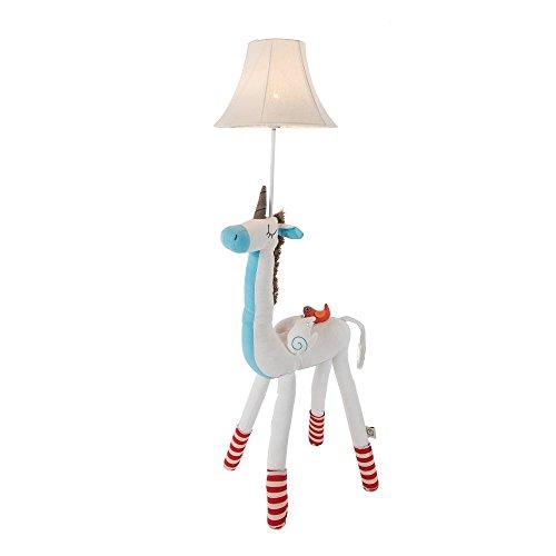 Kids Floor Lamp,Handmade Decorative Floor Lamp Bedside Table,Unicorn Lamp Night Light for Children's Bedroom Living Room Playroom 48 inch Height (high) by Viavia