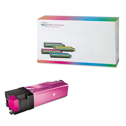 Media Sciences MDA40083 Xerox Compatible Phaser 6130 Toner Cartridge, Magenta