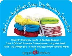 Applecheeks MicroTerry Starter Kit (size 2) by Apple Cheeks