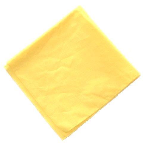 plain YELLOW cotton bandana headscarf