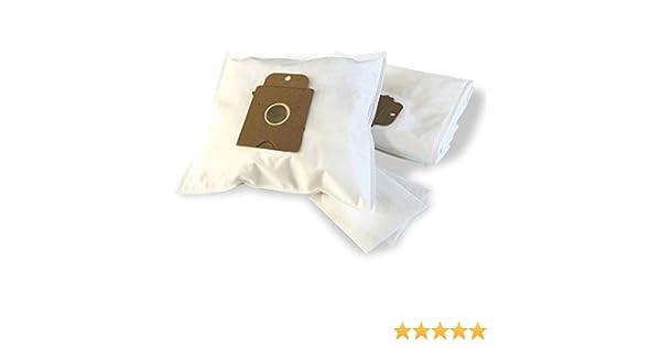 10 bolsas para aspiradora Siemens Big Bag, 3 L VS 01 E 000 – 999, bolsa para el polvo bolsas (+ 2 filtros – nv609)