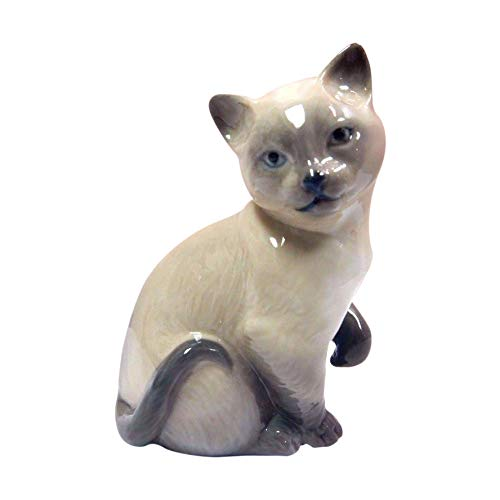 Animal Lladro Figurines - Lladro Porcelain Lucky Cat Figurine by Lladro