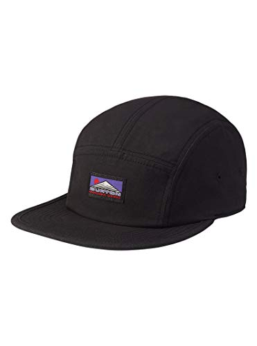 Burton Men's Cordova 5-Panel Camp Hat, True Black W20, One Size ()