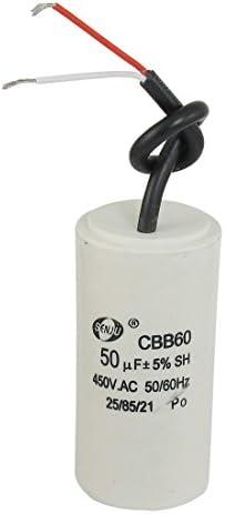 Andifany AC 450V 14uF Condensateur du Moteur avec Film de Polypropylene