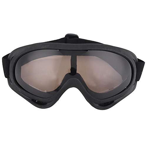 UV Protection Anti-Fog Snow Goggles Snowboard Over Glasses Motorcycle Riding Goggles for Men and Women(Tawny)
