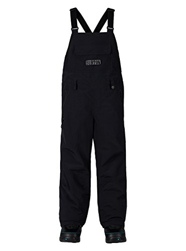 Burton Youth Skylar Bib Pants, True Black, Small by BURTON NUTRITION