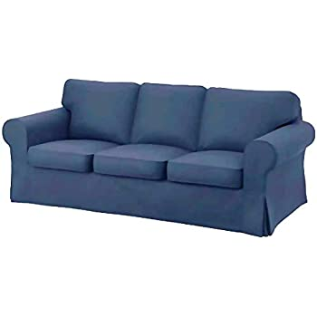 Amazon.com: Replacement Cover for IKEA Ektorp 3-seat Sofa ...