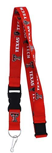 aminco NCAA Texas Tech Red Raiders Team Lanyard ()