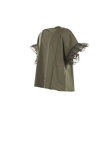 VICOLO T-Shirt Donna Verde Vo0002 Primavera Estate 2017