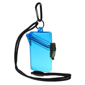 Witz 00402-Blue See it Safe Waterproof ID/Badge Holder Case, -