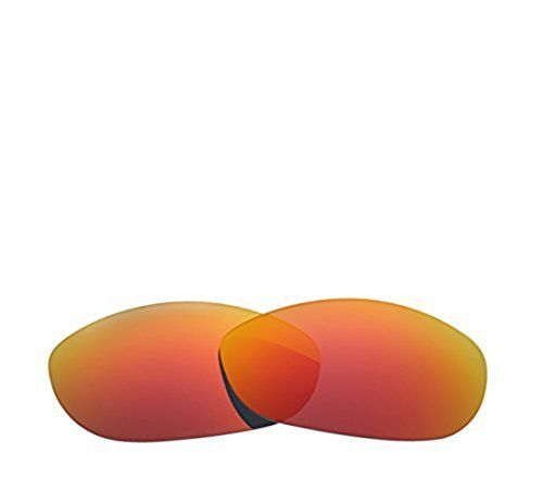 Oak&ban New Polarized Replacement Lenses For Oakley Monster Dog Sunglasses Multiple Colors Options Available Mirror Coating With UV Protection (Fire - Lenses Polarized Oakley Dog Monster