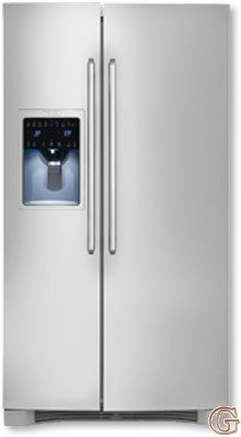 Electrolux EI26SS30JS IQ-Touch 25.95 Cu. Ft. Stainless Steel Side-By-Side Refrigerator - Energy Star