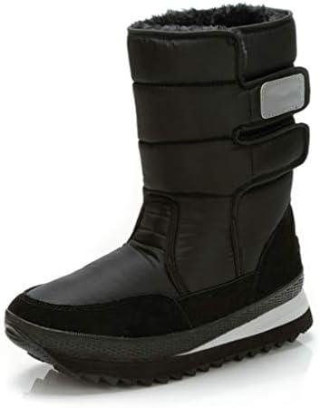 スノーブーツ ブーツメンズ ショートブーツ 冬 裏起毛 スノーシューズ 雪靴 ベルクロ 脱ぎ履きやすい 滑り止め 防寒 裏ボア 綿靴 防水 冬ブーツ フラット ラウンドトゥ ダウンブーツ コンフォート