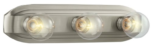 Designers Fountain 6613-BN Value Collection Vanities, Brushed Nickel (Bulbs Collection 3)