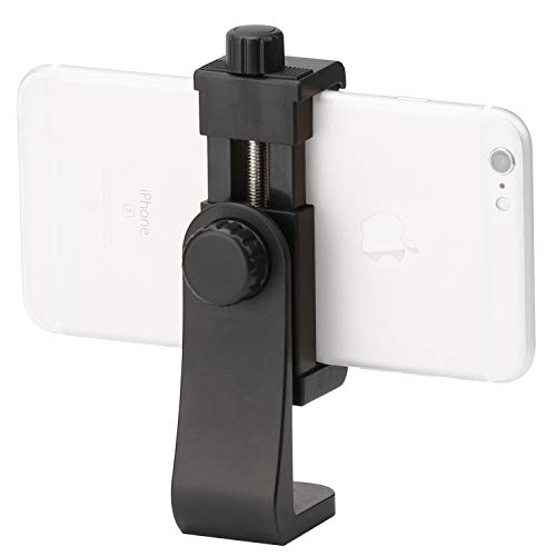 - Cell Phone Tripods Adapter Vertical Bracket Smartphone Holder Cell Phone Clip Clipper 360 Degree Smartphone Video Tripod Clamp