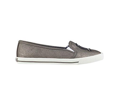 Tommy Hilfiger Womens Blossi Sneaker Silver Rrr9R