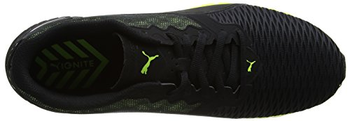 Puma Ignite Dual - Zapatillas de Entrenamiento Hombre Negro (Puma Black-safety Yellow 07)