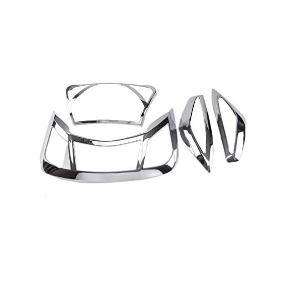 Spedy Chrome Headlight Tail Light Indicator Cover Kit for Suzuki Access 125 VILS_-180