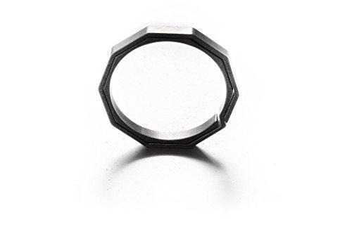 HandGrey KNOX custom Titanium Split Key Ring