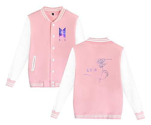 Manteaux Boutons Bts Outwear Avec Tailles Vestes Couples Unisexe Veste Plus Baseball Manteau Jacket Hipster Haililais Zxp8S4w4q