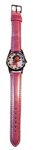 DORA The Explorer Pink Genuine Leather Strap WRIST (Dora The Explorer Costume Ideas)