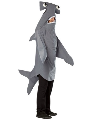 Rasta Imposta one size - Hammerhead Shark Adult Costume,Multicolored for $<!--$74.99-->